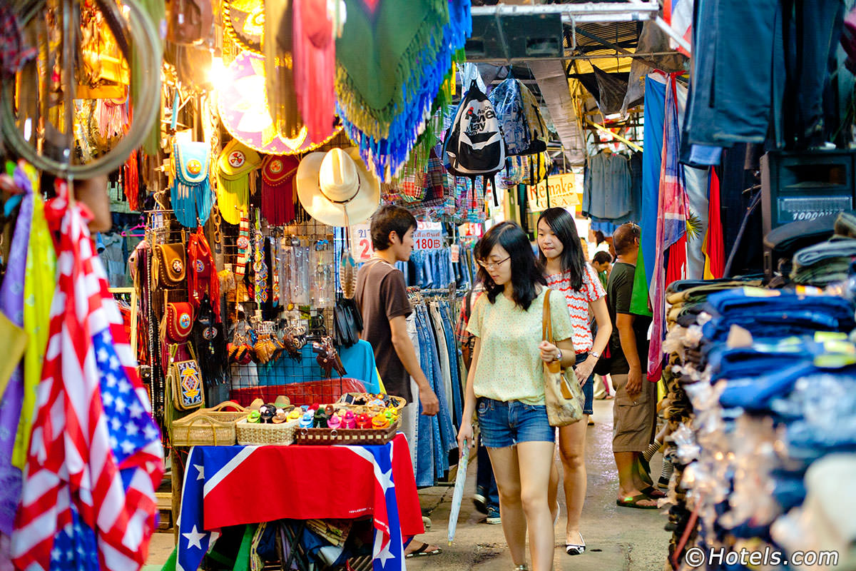 השווקים הכי מומלצים בבנגקוק